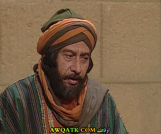صورة قديمة للممثل عثمان محمد علي