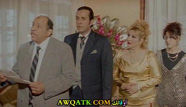 صورة الفنان المصري عيد أبو الحمد داخل فيلم