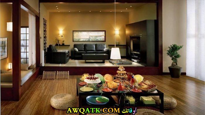 غرف معيشة يابانية حلوة جداً