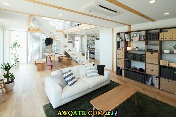 غرف معيشة يابانية عصرية وجديدة
