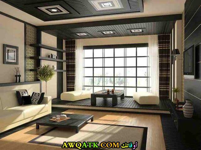 غرف معيشة يابانية مودرن