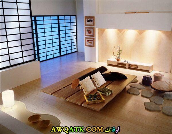 غرف معيشة يابانية جديدة 2018
