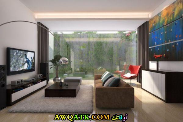 غرف معيشة يابانية هادية وجميلة
