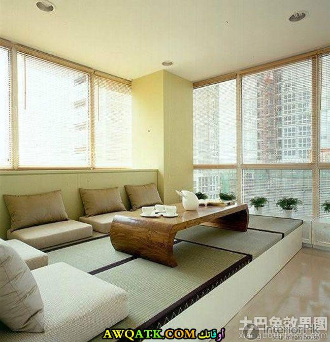 غرف معيشة يابانية تناسب قمة في الجمال