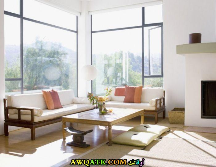 غرف معيشة يابانية تناسب قمة في الهدوء والشياكة