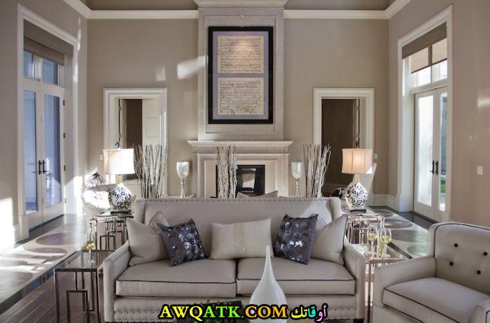 غرفة معيشة أمريكية في الشياكة