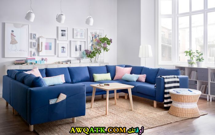 غرفة معيشة من أيكيا جميلة جداً