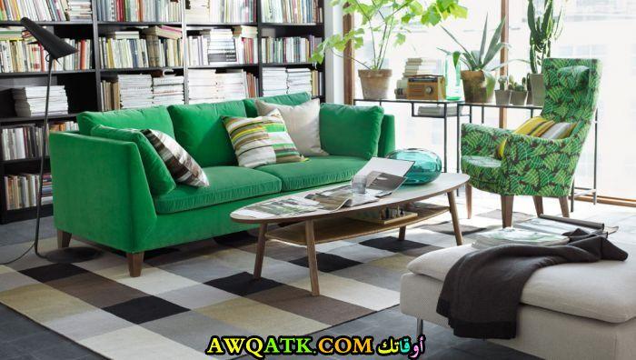 غرفة معيشة من ايكيا في منتهي الروعة والجمال