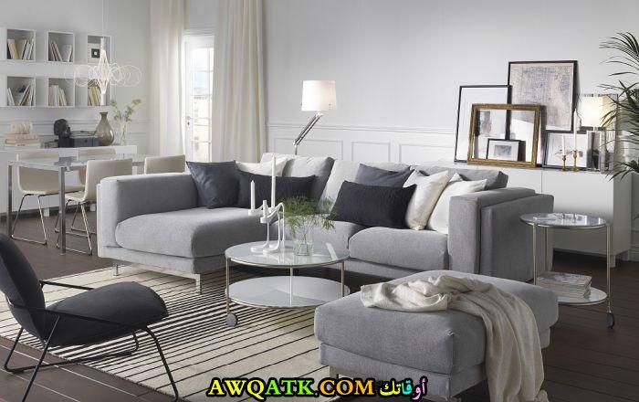 غرفة معيشة من ايكيا رائعة