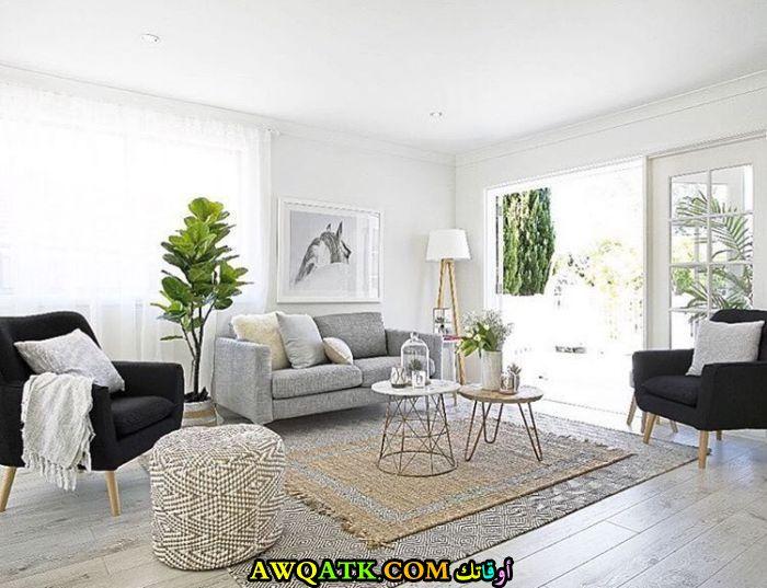 غرفة معيشة من أيكيا في منتهي الجمال