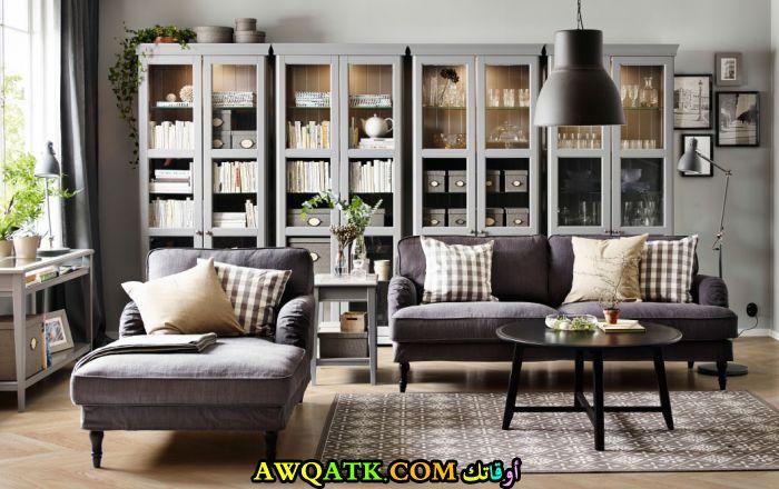 غرفة معيشة من ايكيا مودرن