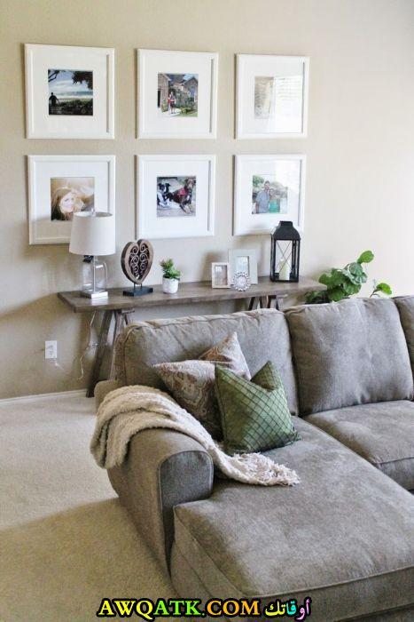 غرفة معيشة من ايكيا جميلة وبسيطة