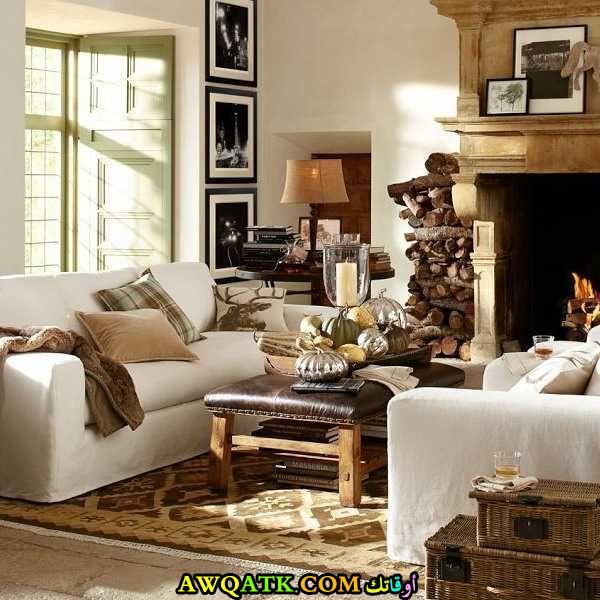 غرفة معيشة تركية جميلة جداً