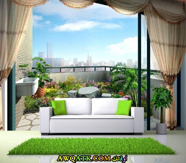 غرفة معيشة ثلاثية الأبعاد جديدة 2018
