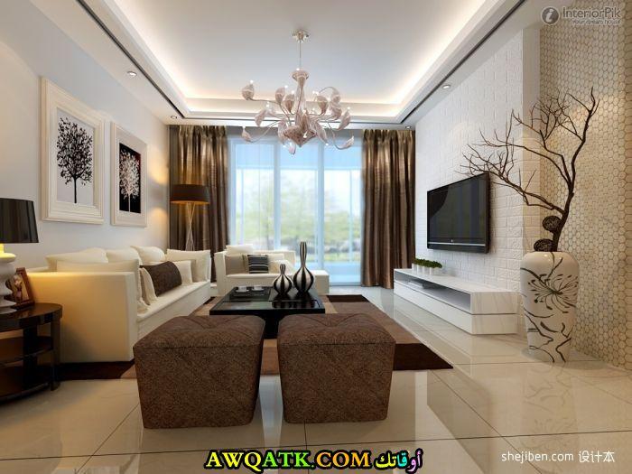غرفة معيشة جبس بورد جميلة جداً