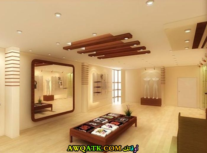 غرفة معيشة جبس بورد أنيقة وجميلة