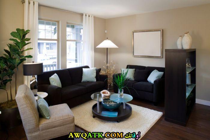 غرفة معيشة في قمة الجمال والروعة