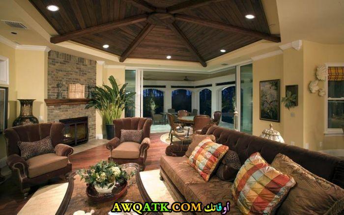 غرفة معيشة حلوة جداً وجميلة