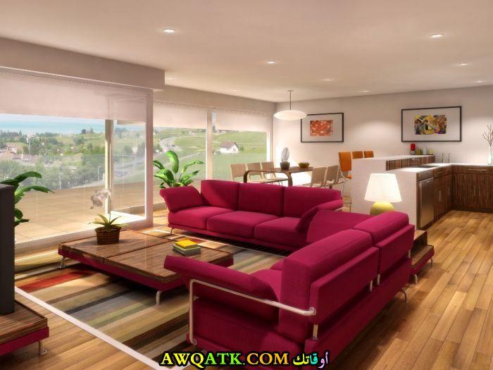 غرفة معيشة عصرية وجميلة جداً