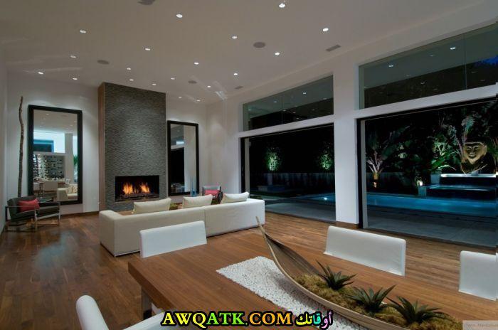 غرفة معيشة مودرن جميلة جداً