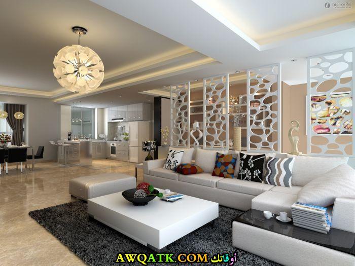 غرف معيشة جميلة جداً ورائعة