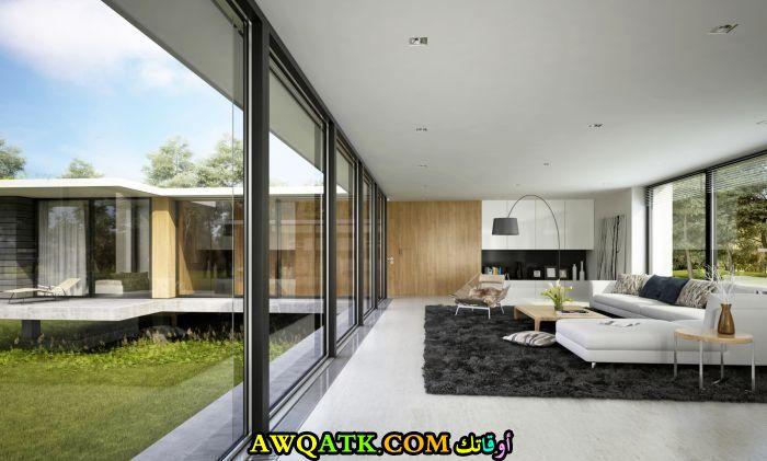غرفة معيشىة حديثة ورائعة