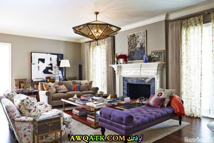 ديكور غرفة معيشة في منتهي الجمال