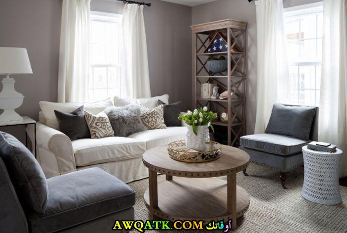 ديكور غرفة معيشة أنيقة جداً وجميلة