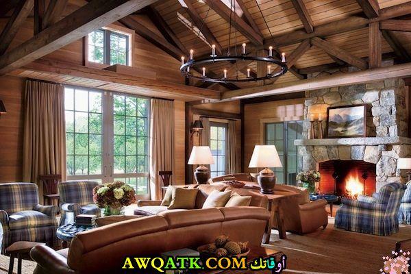 غرفة معيشة ريفية 2018
