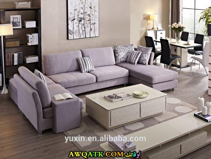 غرفة معيشة سعودية جديدة وعصرية