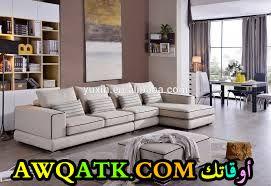 غرفة معيشة سعودية جميلة وبسيطة