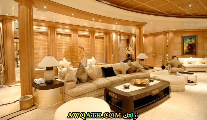 غرفة معيشة مودرن علي الطراز السعودي