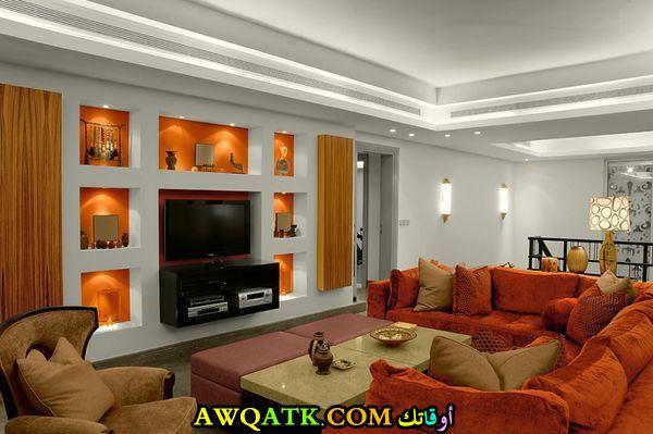 غرفة معيشة سعودية روعة