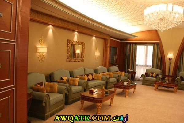 غرفة معيشة سعودية رائعة