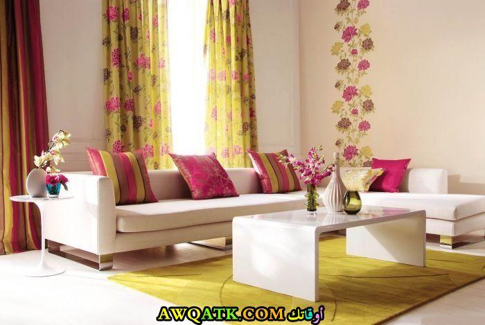 غرفة معيشة سمبل وجميلة جداً