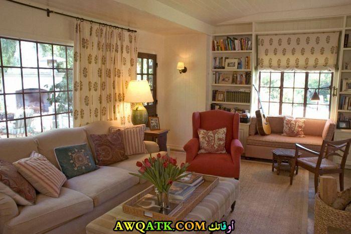 غرفة معيشة سمبل تناسب الذوق الراقي