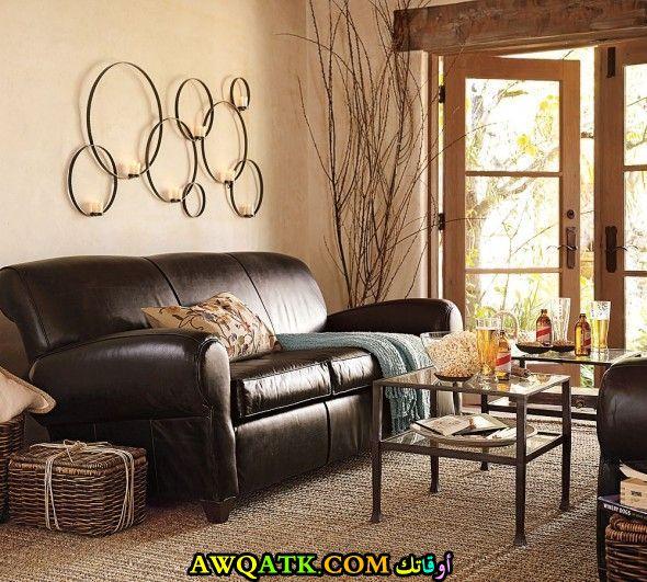 غرفة معيشة سمبل هادية وجميلة