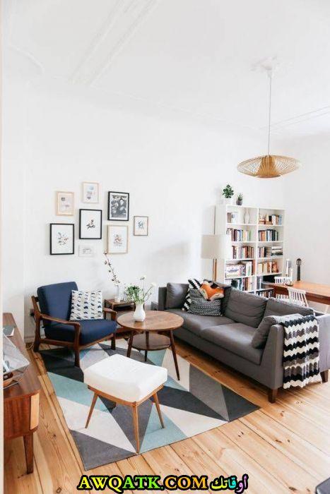 غرفة معيشة صغيرة الحجم جميلة جداً