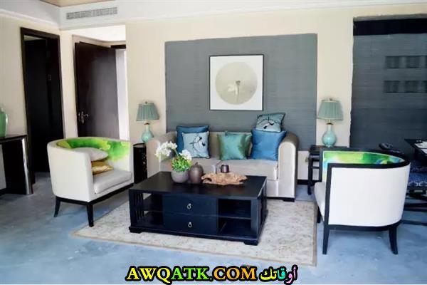 غرفة معيشة عراقية جديدة وعصرية