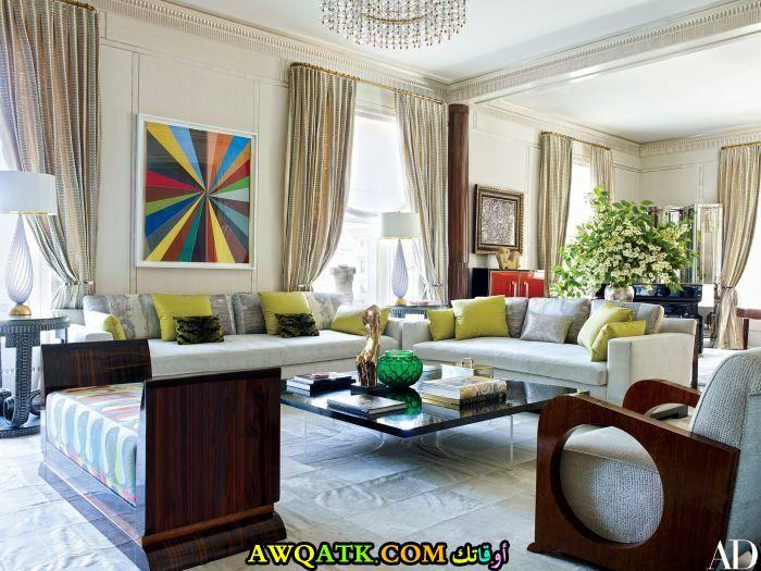 غرفة معيشة عراقية روعة وجميلة