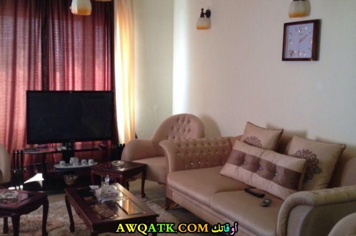 غرفة معيشة عراقية رائعة