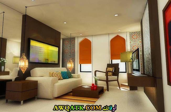 غرفة معيشة عراقية قمة في الجمال