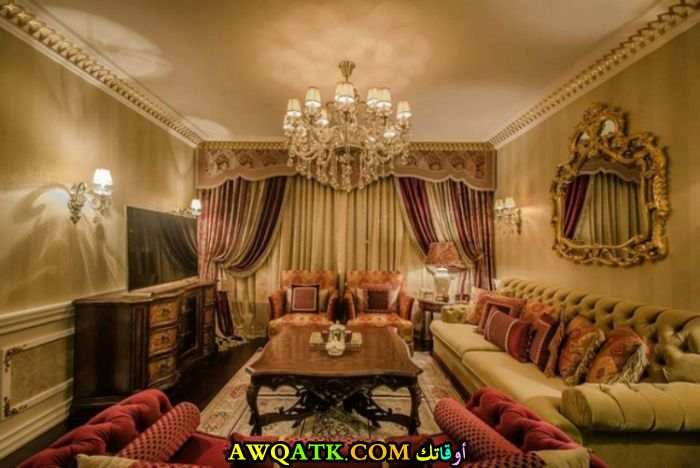 غرفة معيشة عربية روعة وشيك