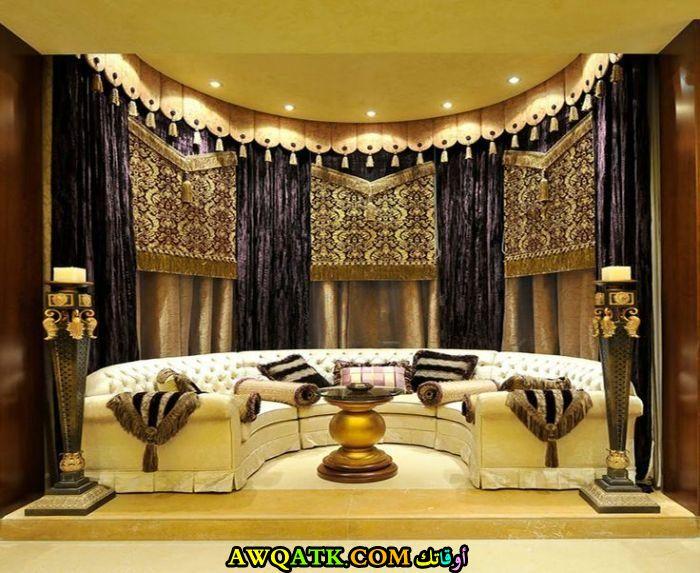 غرفة معيشة عربية شيك جداً