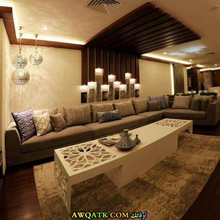 غرفة معيشة عربية روعة
