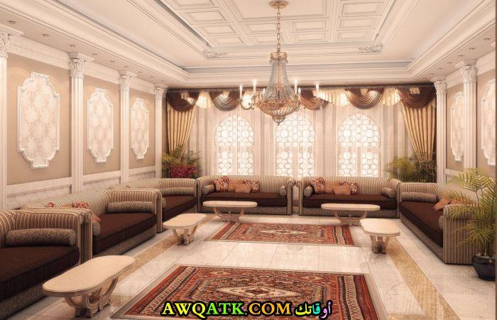 غرفة معيشة عربية رائعة