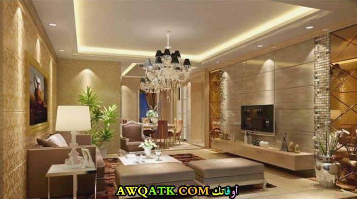 غرفة معيشة عربية قمة في الجمال
