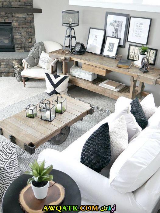 غرفة معيشة عصرية رائعة
