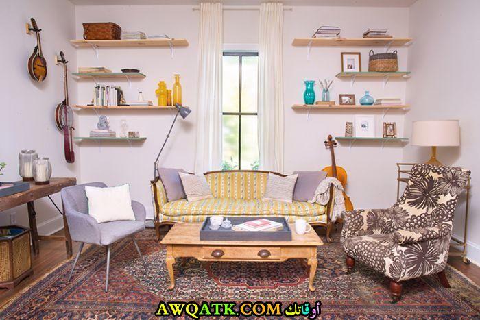 غرفة معيشة عملية مختلفة