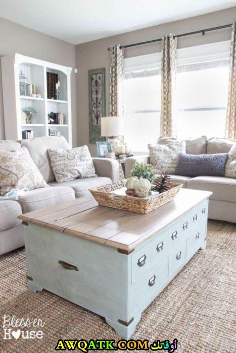 غرفة معيشة عملية قمة في الجمال